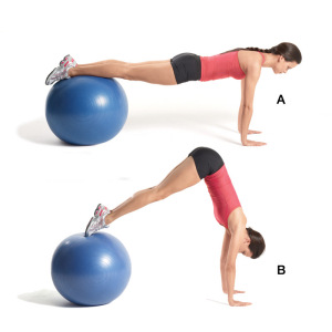 Stability ball 1